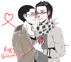 Lazy Valentine Gift! by itsnucleicacid
