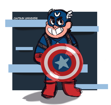 Marvel Crossover: Captain Universe by DippinDot-Doodles