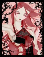Cherry Blossoms by willowgothicprincess