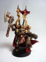 Chaos Space Marine Lord by Scipio164