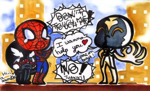 Anti Venom wanna help ... by Doku-Sama