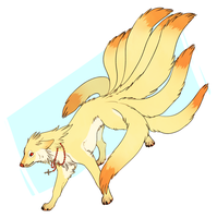 Ninetails Commission by Susiron