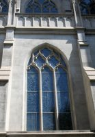 Denver Cathedral Windows 68 by Falln-Stock