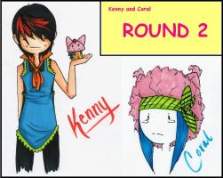 Kenny and Coral Round 2 by Teal-and-Coral
