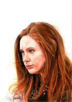 Amelia Pond by bartosanda