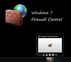 Windows7 Firewall Control skin by xjannikx