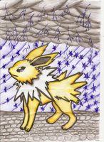 Jolteon by GlacySnowy