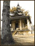 Laos temple3 by iroza