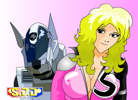 Power Rangers SPD Syd n R.I.C by condorjoeg2