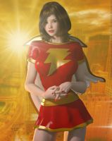 Mary Marvel 'Sunset City' Series by DevilishlyCreative
