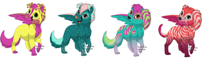 CUTE DOGGIE ADOPTABLES by naty15