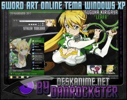 Leafa Theme Windows XP by Danrockster