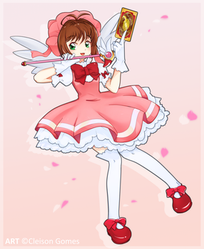 Art Sakura Card Captors by iKiy
