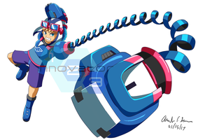 Commission: Aozora ARMS by innovator123