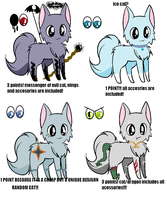 SUPER COOL AND CHEAP ADOPTS! by snoopyluver5