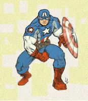 Captain America by scarab109