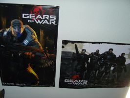 Gears Of War posters by VaLkyR-Anubis