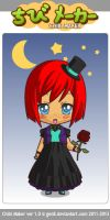 Ming's formal wear~ Chibi by Mingbatrox108