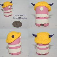 Janet Weiss Timid Monster by TimidMonsters