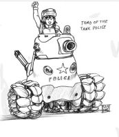 Tomo of the Tank Police by Ragathol