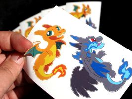 Stickerzards! by Mamath