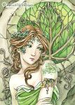 Ivy ACEO by MeredithDillman