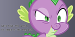 Princess Spike by IvaCatheriaNoid