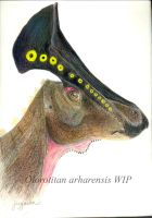 Olorotitan arharensis Profile by Sainte-Vincient
