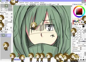 Kagerou Project - Kano Shimeji DOWNLOAD by naznaz95