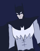 Batman - Batman by JaredHedgehog