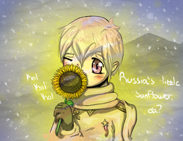 Russia's little sunflower by MorningDesiree