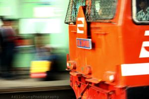 Moving Train... by adiluhung