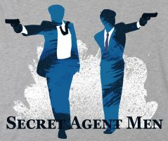 Secret Agent Teeshirt by kamidog