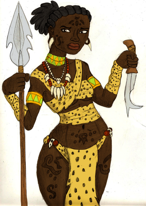 Ngunbere Colored