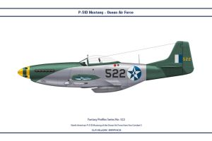 Fantasy 522 P-51D Osean Air Force by WS-Clave