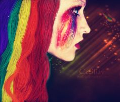 Rainbow Hailee by ceciliay