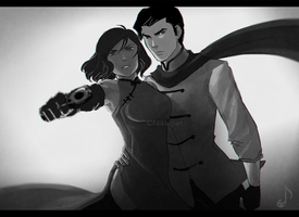 LoK: Republic City Noir by ShootingStar03