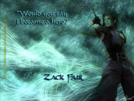 Zack Fair Wallpaper by alexielsama