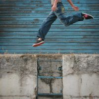 Run and jump by ingue