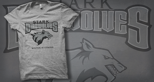 T-Shirt: House Stark by dontblinktees
