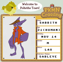 PKMN Crossing : Sabbith by Zito-is-Neato