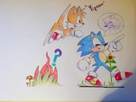 Team Sonic by Artfrog75