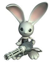 lapin cretin render by riton08design