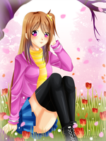 [R.G]: Hanami Event by Mielluu