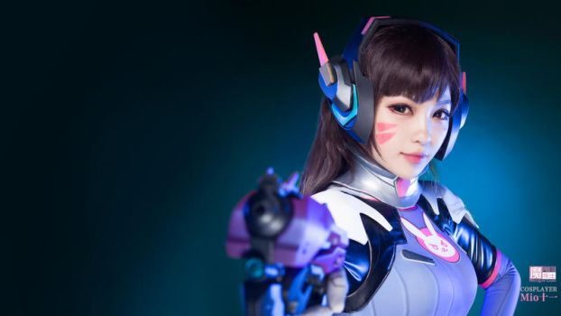 Overwatch D.Va Desktop by aoandou