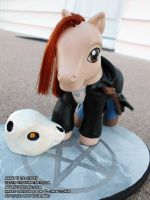 My Little Dresden and Bob by lizstaley