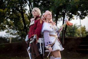 Escha and Logy No Atelier II by MadeinPlute
