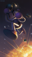 Bomberman by Eyecager