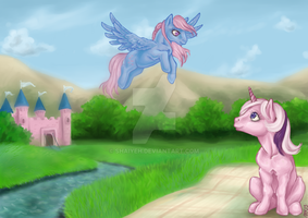 A spot for an afternoon chat by Shaiyeh
