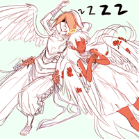 Sleeping angels by BayneezOne